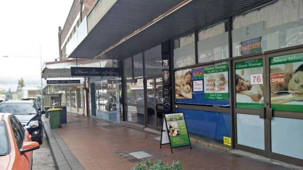 Lithgow-Lavender-Massage- Shopfront